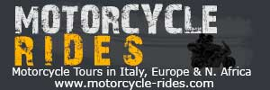 Motorcycle tours in Italy, Europe and N.Africa