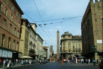 Emilia-Romagna - The center of Bologna