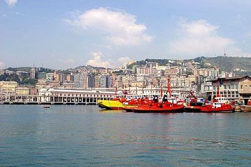 Liguria - View of Genoa