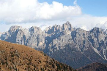 Trentino-Alto-Adige - View of the Group of Brenta