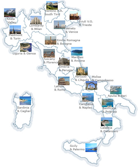 Find Your Tour Destination Italy Travel Guide - Touring italy