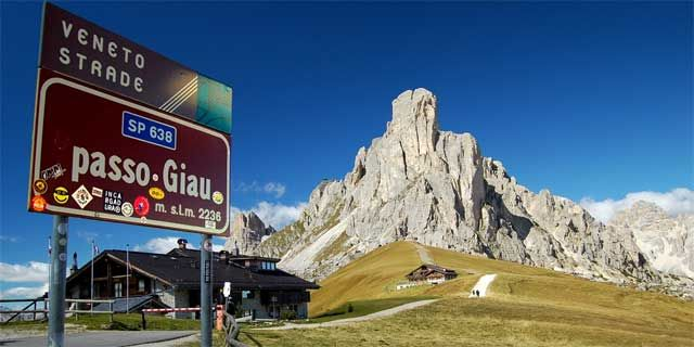 Giau Pass: one of the most scenic pass of the Dolomites