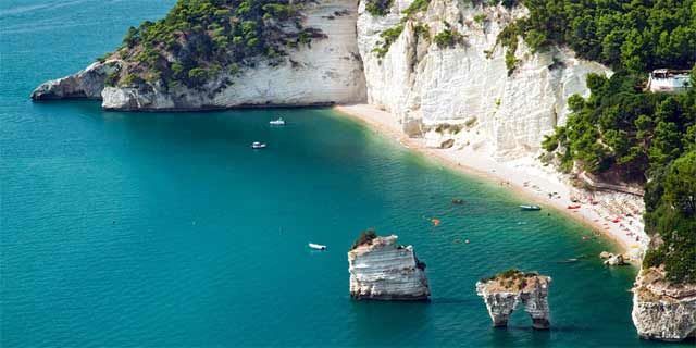 Gargano Along Its Astonishing Coastline From Vieste To Rodi