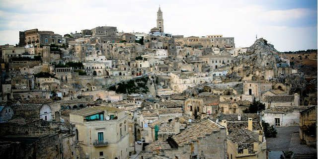 Walking among the astonishing Sassi of Matera