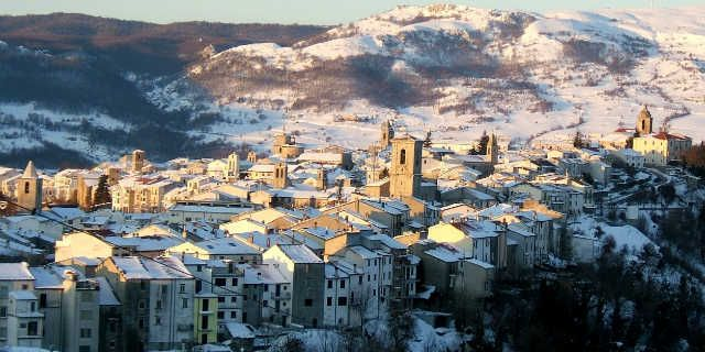 Agnone, a beautiful town where art and nature live together