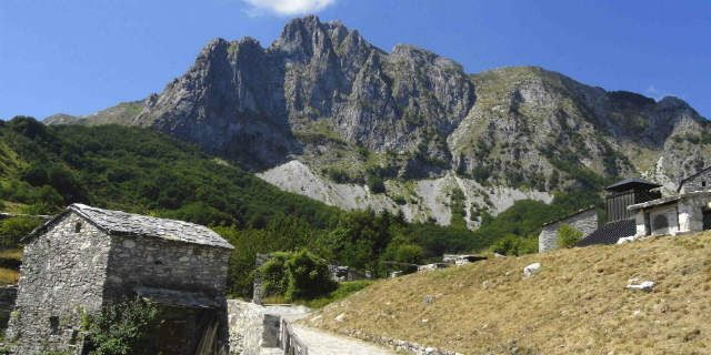 Apuan Alps and Lard of Colonnata two  jewels of Tuscany