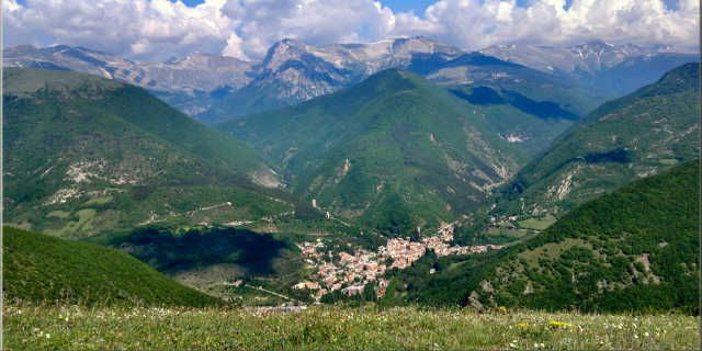 Discover the legends of Sibillini Mountains in Central Italy