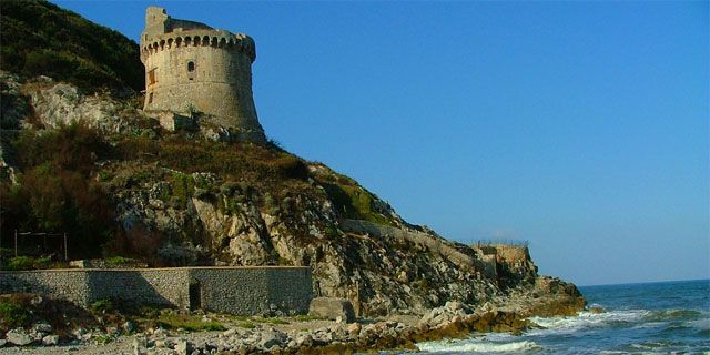 Circeo National Park, the promontory south of Rome