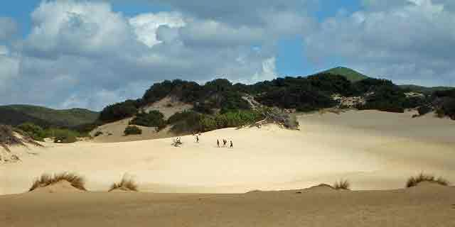 Dunes of Piscinas, the little Sahara-like desert in Sardinia
