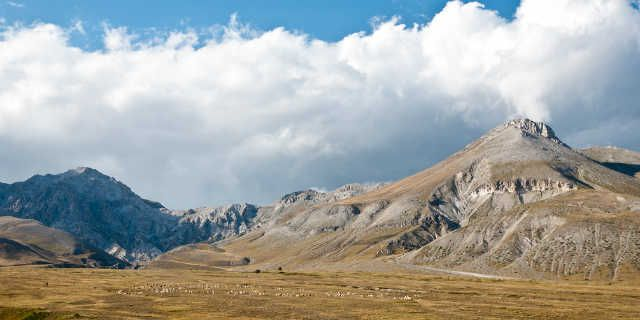 Campo Imperatore in Gran Sasso and Mount Laga National Park