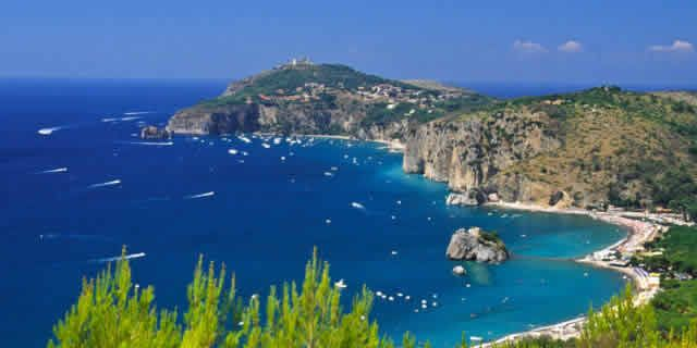 The Scenic Drive Along The Stunning Coast Of Cilento
