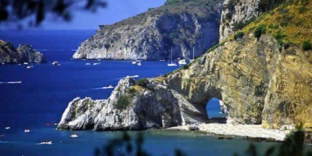 Cilento Region Italy Map.The Scenic Drive Along The Stunning Coast Of Cilento