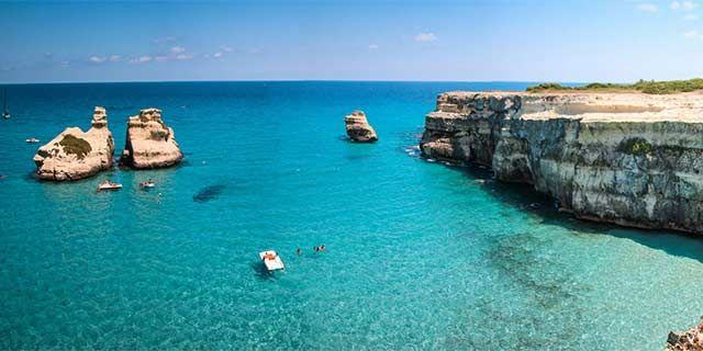 Salento, the heel of Italy, the beautiful area in Puglia