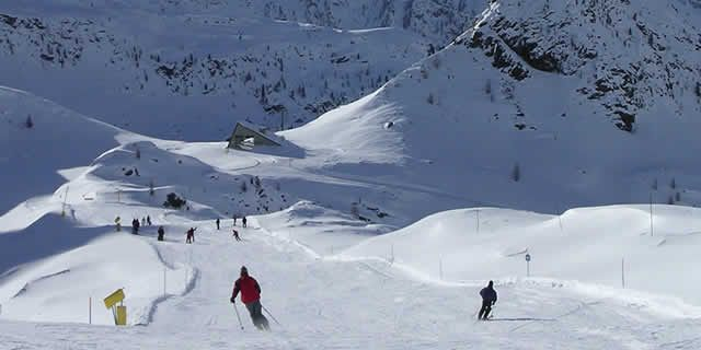 Champoluc, an important ski resort in Monte Rosa ski area