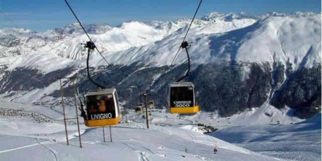 Livigno The Ski Resort Among Highest Peaks Of Alps