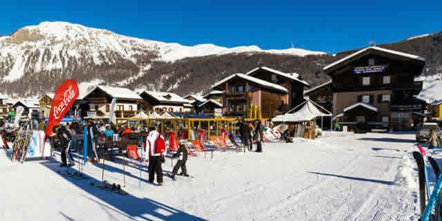 Livigno, the ski resort among the highest peaks of the Alps