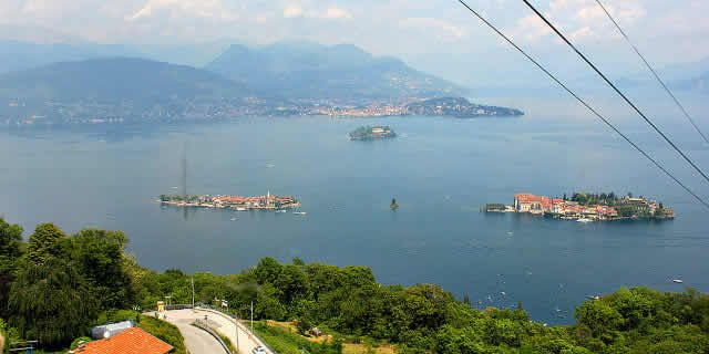 Stresa and Mattarone, magical views over Lake Maggiore