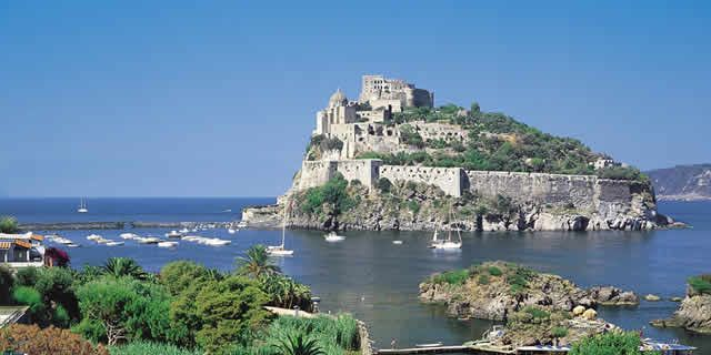 Ischia the wonderful island in the gulf of Naples