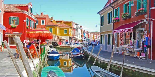 Murano To Burano.Murano Burano Torcello The Islands Of The Venitian Lagoon
