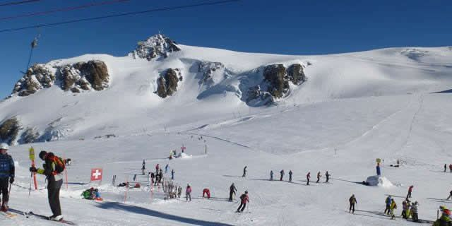 Summer ski resorts in Italy: Cervinia and the Plateau Rosa