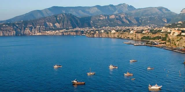 The wonderful Sorrento peninsula
