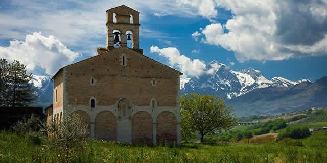 The Magnificent Abbeys of the Vomano Valley