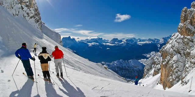 Cortina d'Ampezzo, the best ski resort in the Dolomites
