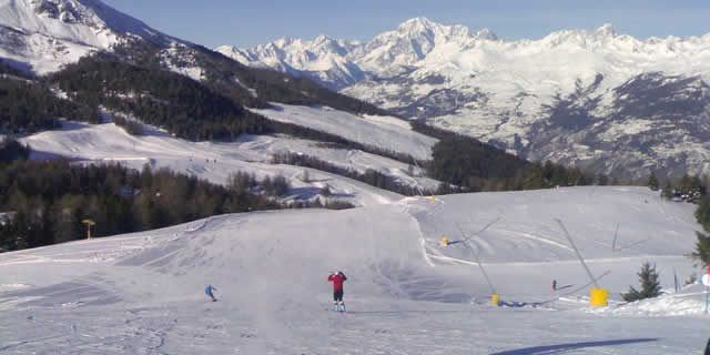 Pila the beautiful ski resort located in Aosta Valley