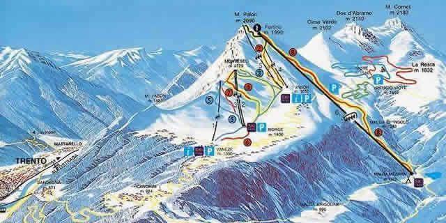 Monte Bondone a Ski Resort in Trentino Italy