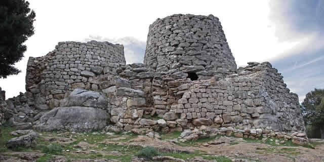 Nuraghi, the millenarian Towers of Stones in Sardinia, Italy
