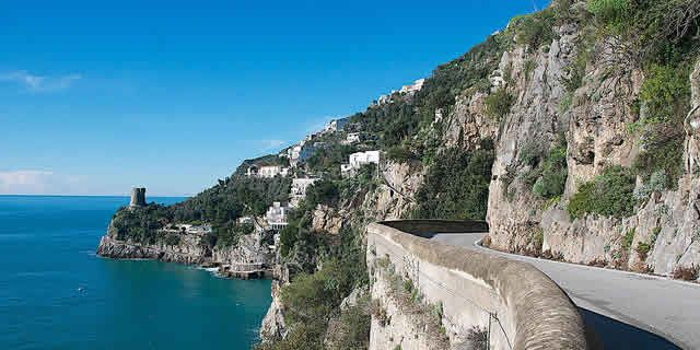 Amalfi Coast, Vietri to Amalfi, a breathtaking scenic tour