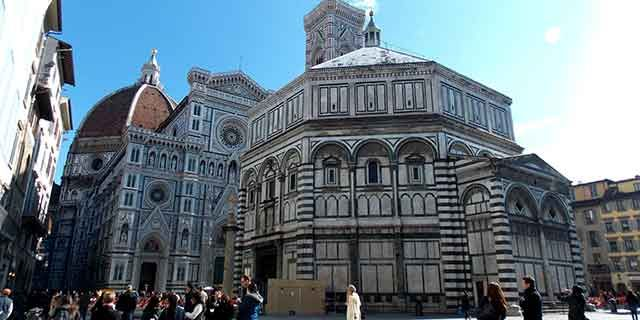 florence the famous art city and its historic churches
