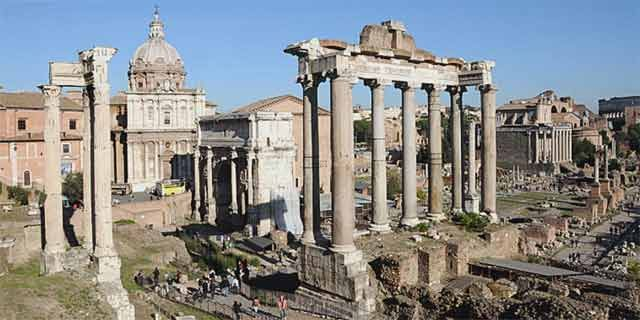 Rome, the Eternal City, the beautiful capital of Italy