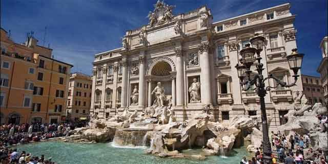 Hotels Near Trevi Fountain Rome Italy