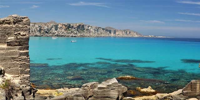 Egadi Islands, west of Sicily, a peaceful part of the world