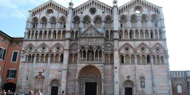 Ferrara, the beautiful Renaissance city of the d'Este family