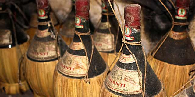 Chianti, the world-renowned Italian wine produced in Tuscany