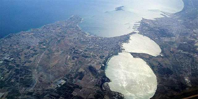 Taranto in Salento, also called the City of the Two Seas