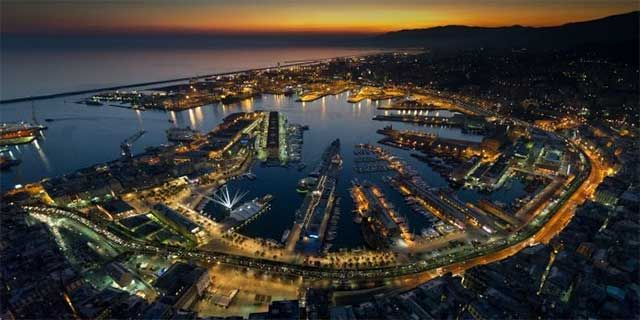 Genoa, a lively city, a mixture of art, culture and sealife
